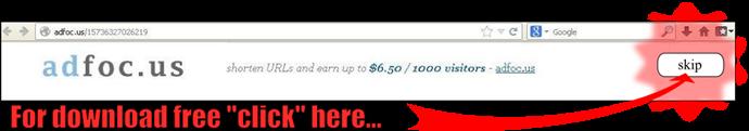 ¿Como descargar por Adfoc.us?