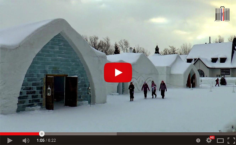 Frozen, Hôtel de glace 2014, Quebec (Qc-ca).