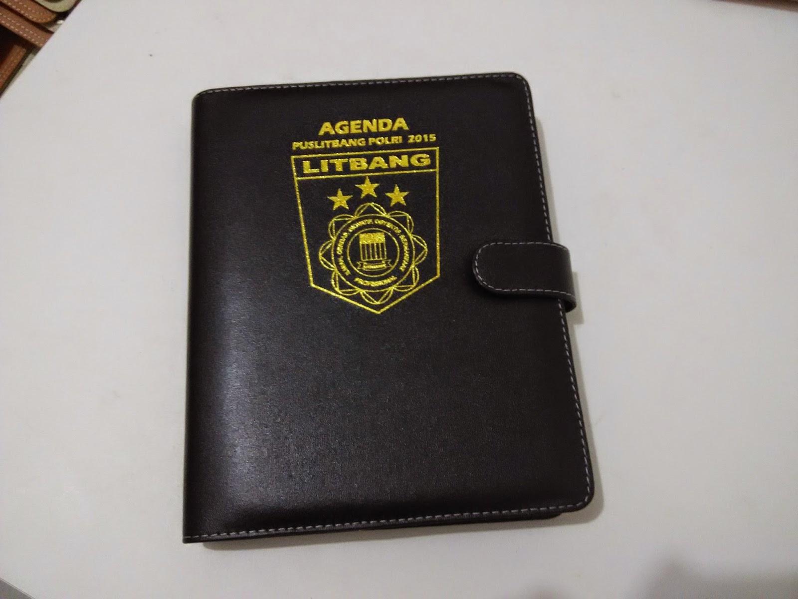 cover atau sampul agenda