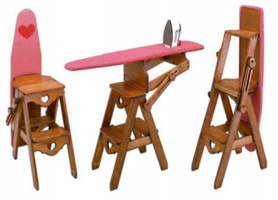 Ironing Table Designs : 15 Creative Ironing Boards and Cool Ironing Board Designs - Part 2.