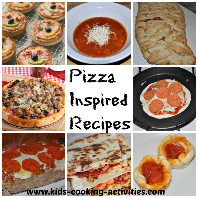 Pizza Has Always Been A Big Hit With Children Here Are Some Menu Ideas Inspired By