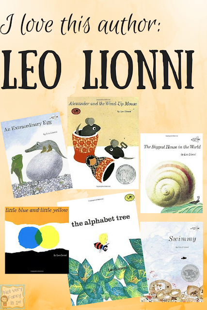 One of my favorite children's authors is Leo Lionni.