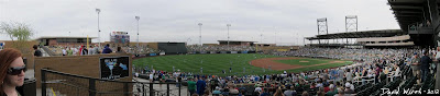 Baseball Scottsdale Arizona Stadium Panorama