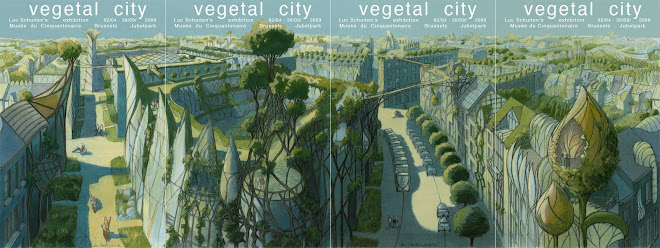 Vegetal City - Luc Schuitten