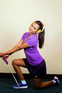Gayesha Perera mini skirt