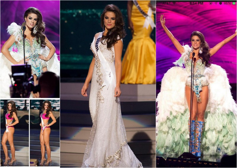 miss universo 2015, Miss Brasil, Melissa Gurgel, Paulina Vega, Miss Colombia