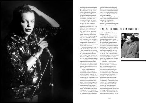 the troubled life of judy garland essay In a new memoir, judy and i: my life with judy garland – crafted from notes though he knew she was troubled pick up this week's issue of people — on.