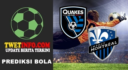 Prediksi SJ Earthquakes vs Montreal Impact, USA MLS 17-09-2015