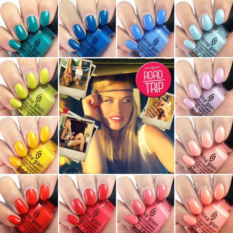 China Glaze Spring 2015 Collection