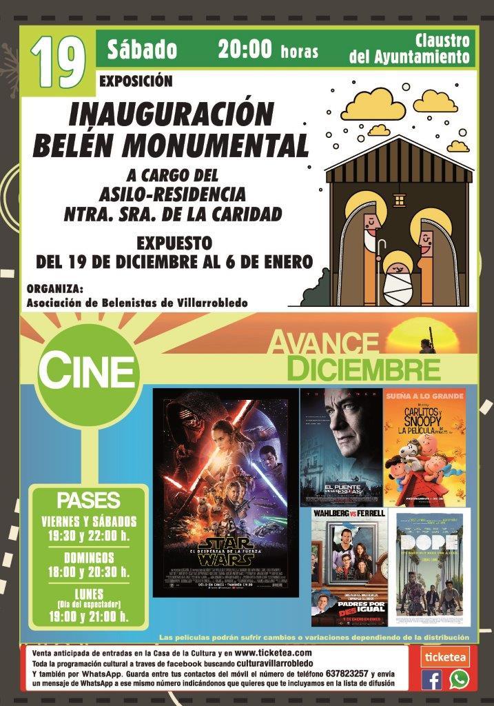 Programa Cultural diciembre