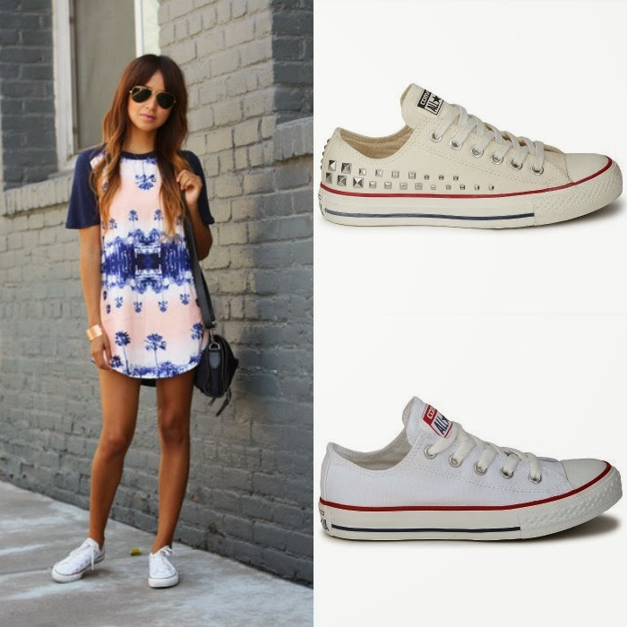 Sincerely Jules converse blancas