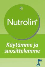 Käytämme Nutrolin -tuotteita