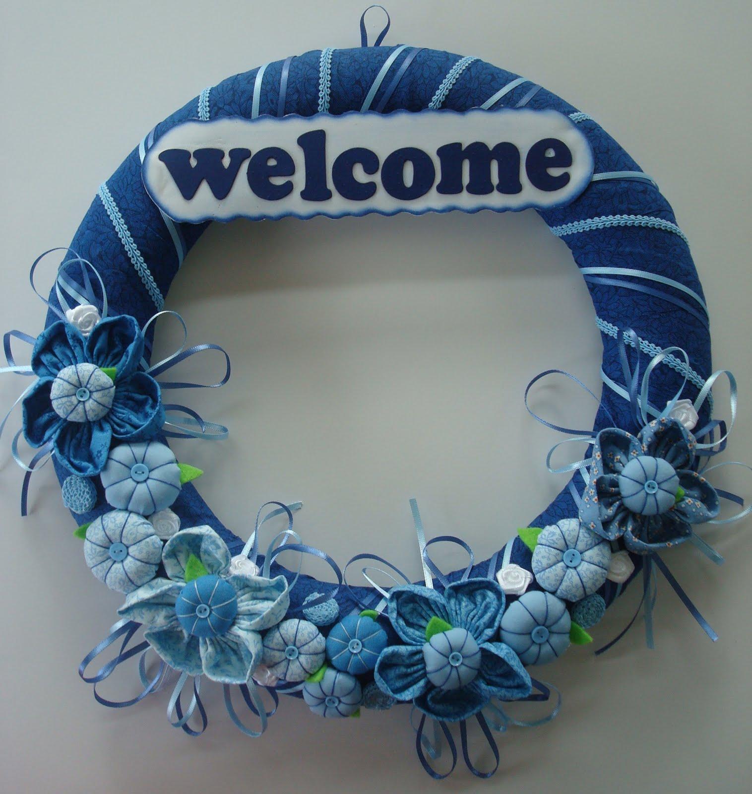 Handmade Gifts Decorated Styrofoam Wreath
