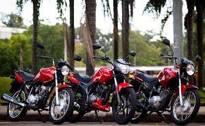 Dafra Riva 150 x Honda CG 125 Fan x Yamaha YBR 125
