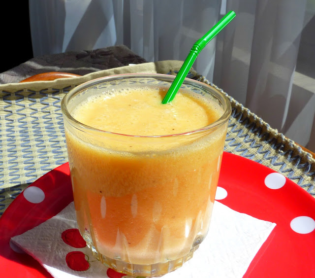 Como preparar jugo de naranja plátano