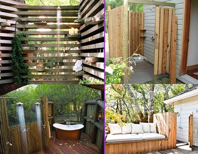 Decordemon Inspiration Outdoor Shower Designs For Your