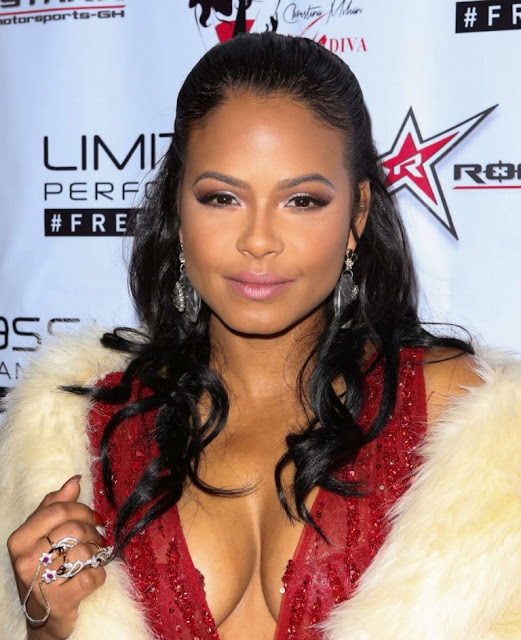 Christina Milian – 2015 Roadstarr Motorsports Holiday event