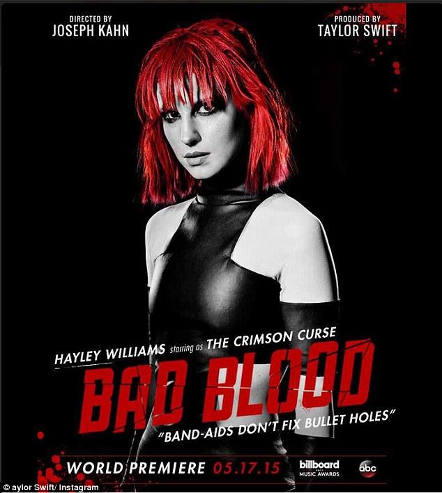 Hayley Williams as 'The Crimson Curse'