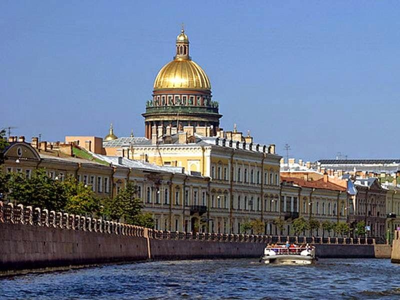 Водная экскурсия «Весь Петербург»