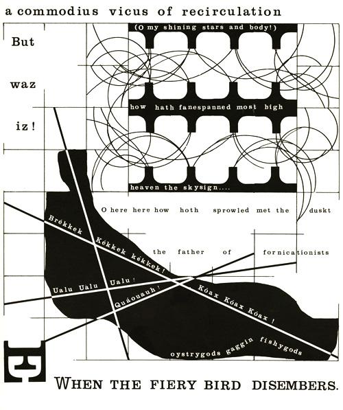 Doctor Ojiplatico. Jacob Drachler. Id-Grids and Ego-Graphs: A Typographic Confabulation with Finnegans Wake