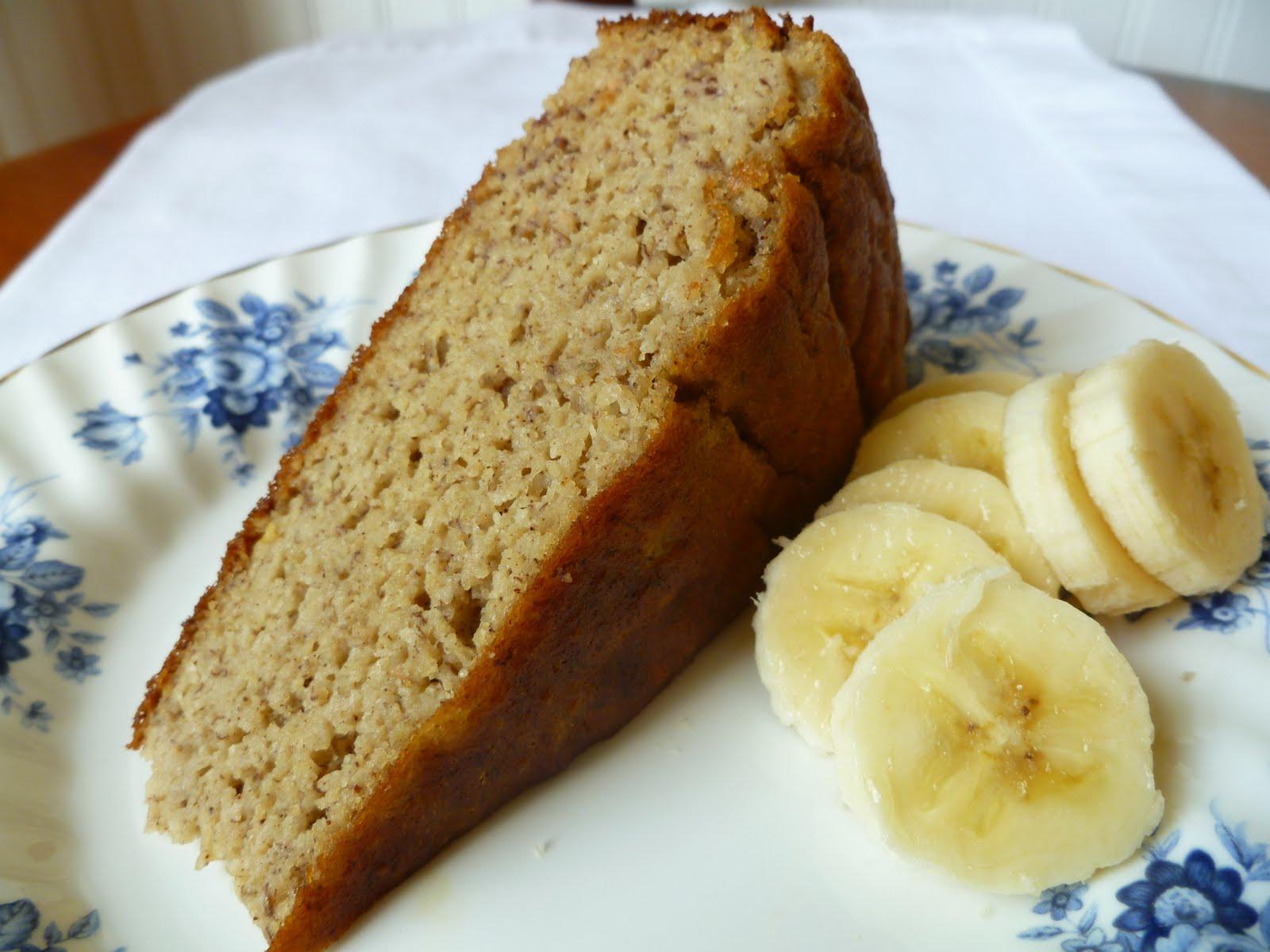 Banana Date Cake Healthy