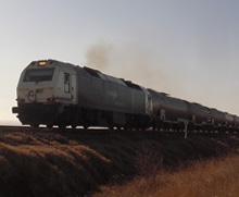 Algunos trayectos en tren, idas y venidas
