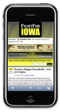 Fight For Iowa Mobile