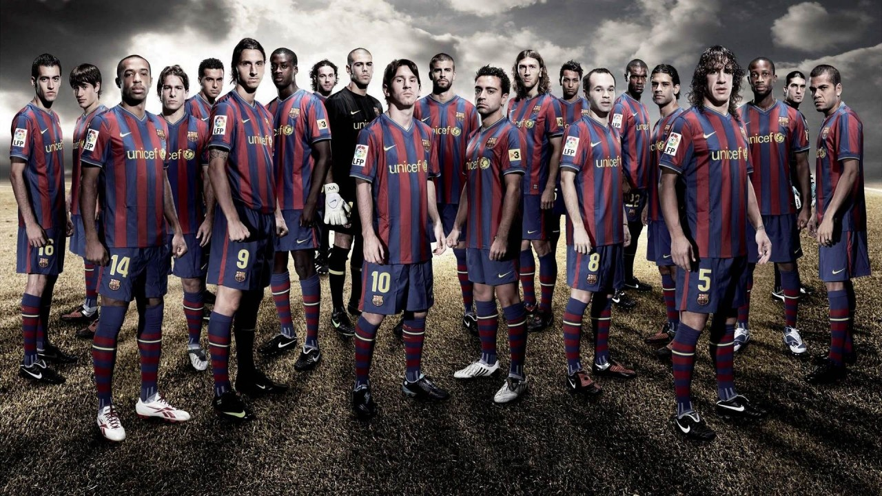 All Wallpapers: FC Barcelona Team Cool HD Wallpapers 2013