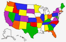 STATES WE HAVE STAYED IN THE MOTORHOME