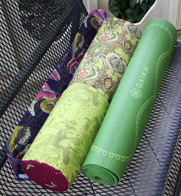 Eleanor Meriwether: Amy Butler's Nigella Yoga Mat Bag