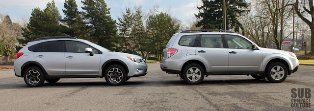 Subaru XV Crosstrek Limited vs. Subaru Forester 2.5X