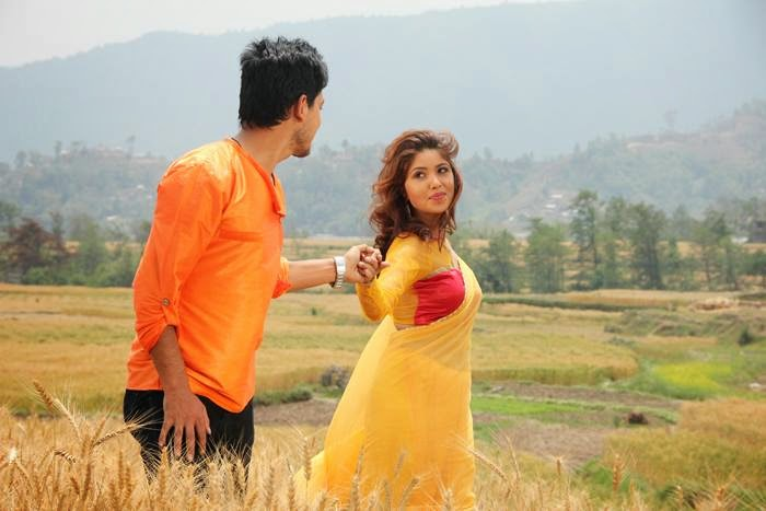 Sudarshan Thapa and Pooja Sharma
