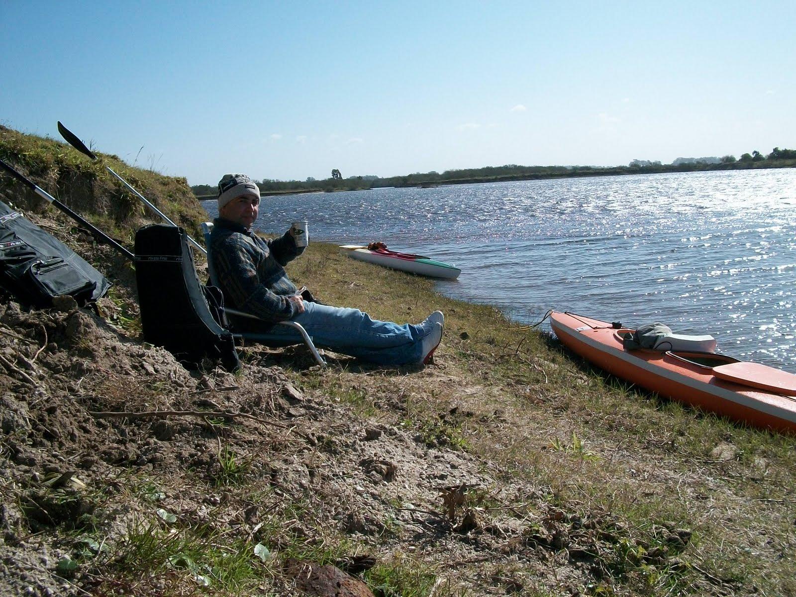 caiacandogrupo de canoagem de pelotasrs lago227o no