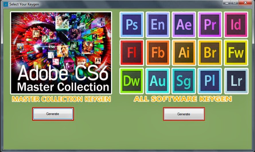 Download keygen generator for adobe.