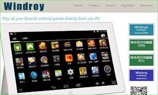 Cara menginstal game android di Windroy