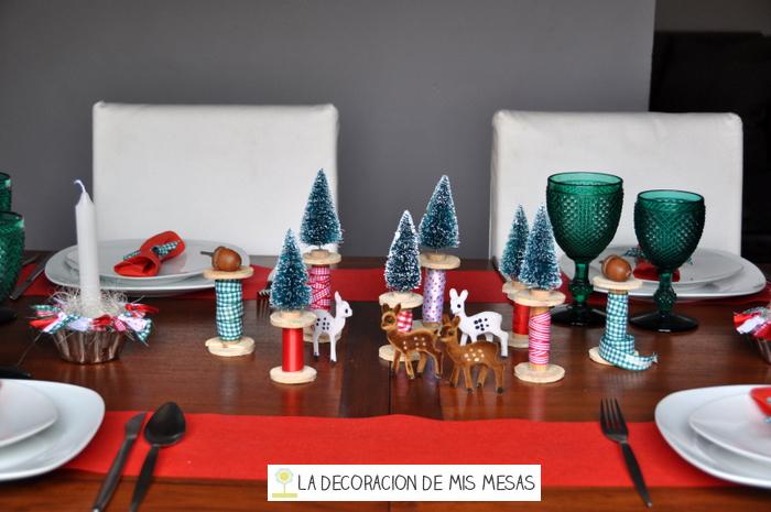 Mesa de navidad 2013 - Decoracion navidad mesa ...