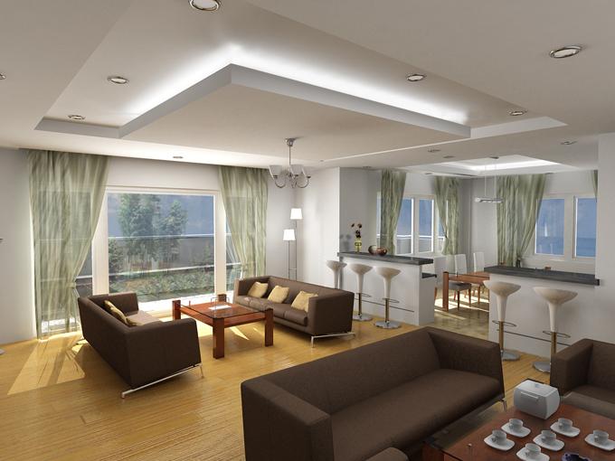 Plaster ceiling viyest interior design for Plaster ceiling design for living room