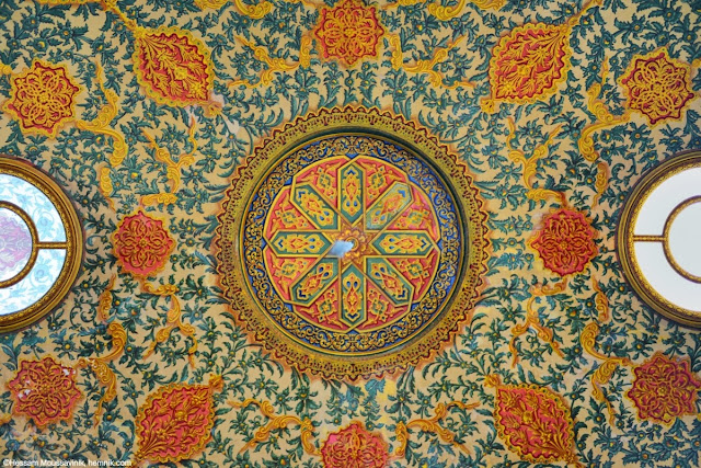 Photo of a roof decoration in Istanbul
