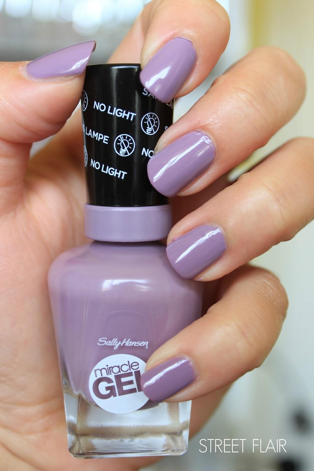 Up irish beauty blog new sally hansen miracle gel nail polishes