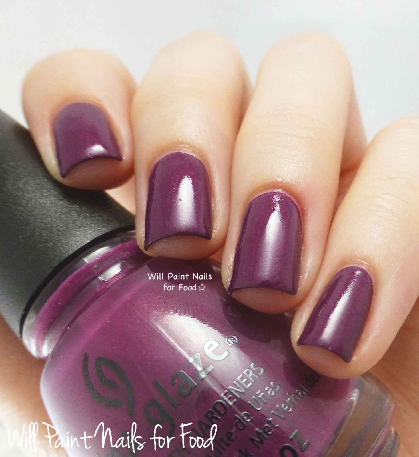 China Glaze Nice Caboose! swatch
