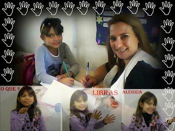 Eu e minha aluna