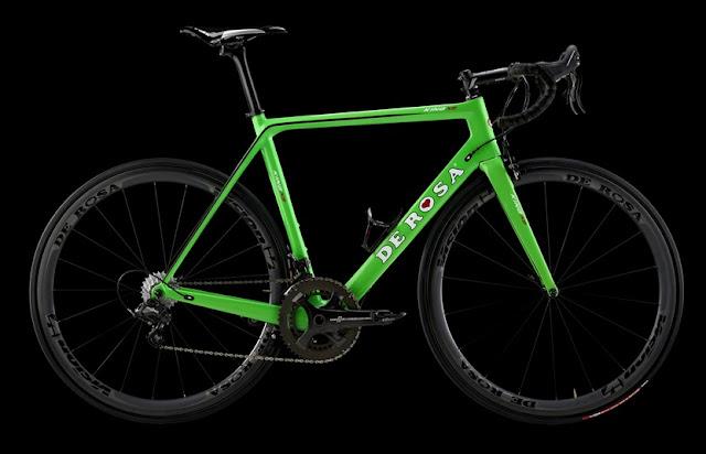 De Rosa KING XS, tecnología al servicio de una elegante bici