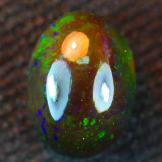 Harga, Ciri, Jenis, Perawatan, Tips treatment Batu Akik Kalimaya Black Opal Solid