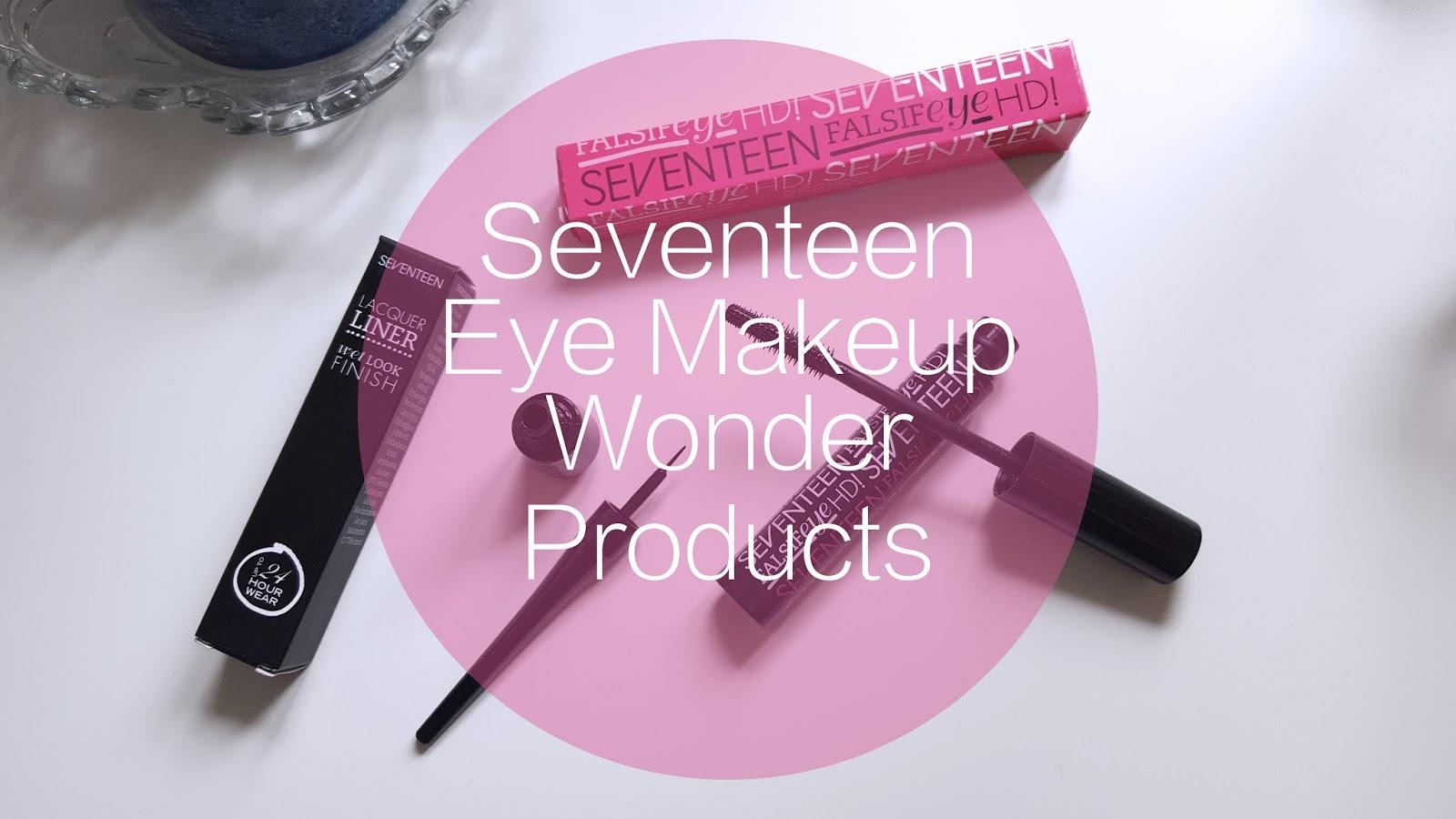 Seventeen Falsifeye HD! Mascara Lacquer Liner