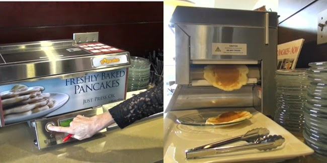 printer unik, printer pancake, printer makanan, printer terunik