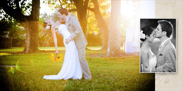 Romantic Wedding Photos - Old Davie School - Fort Lauderdale Photographers