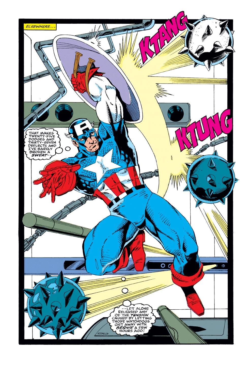 Captain America (1968) Issue #386 #319 - English 4