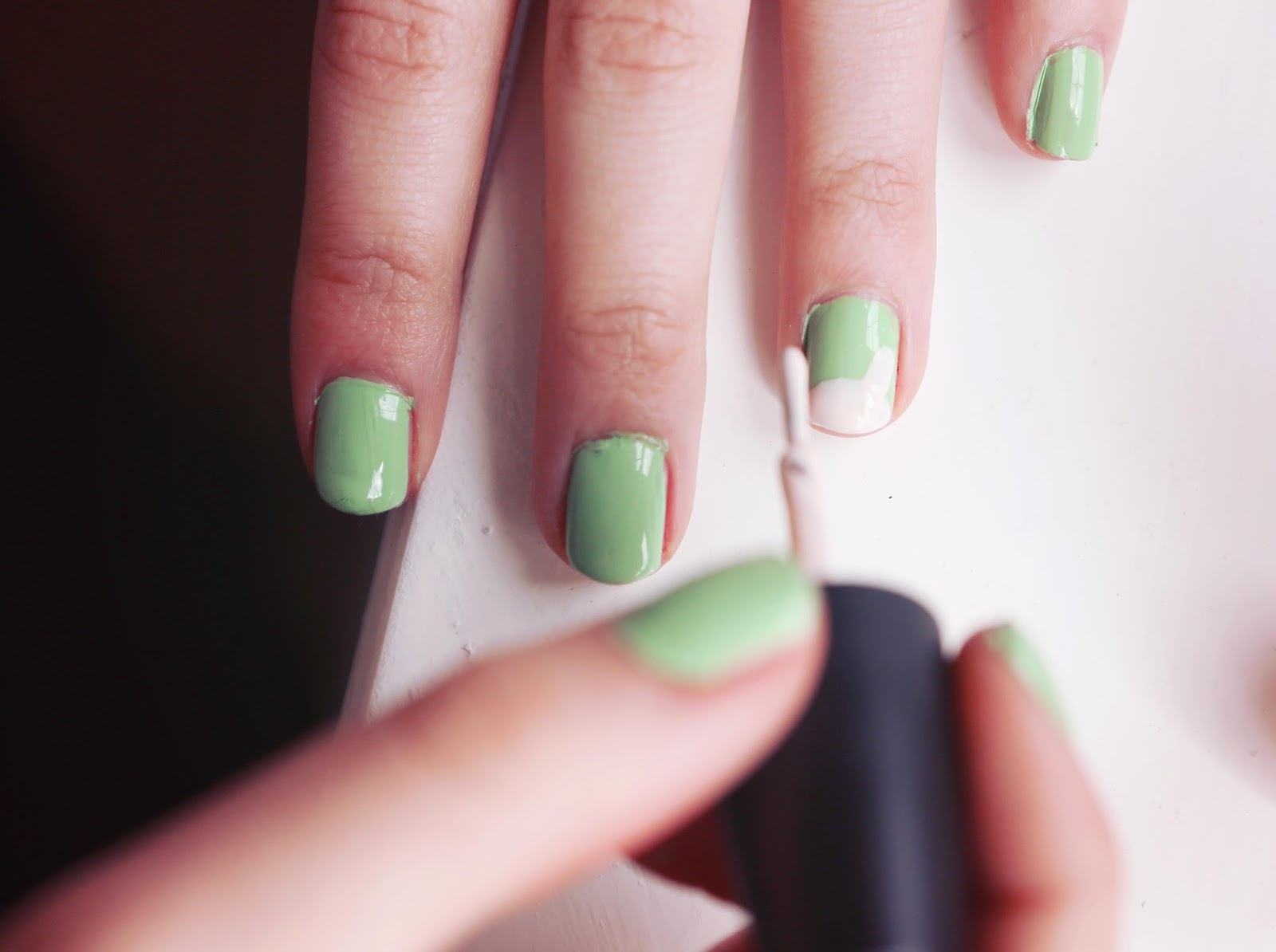 how to do easter nail art
