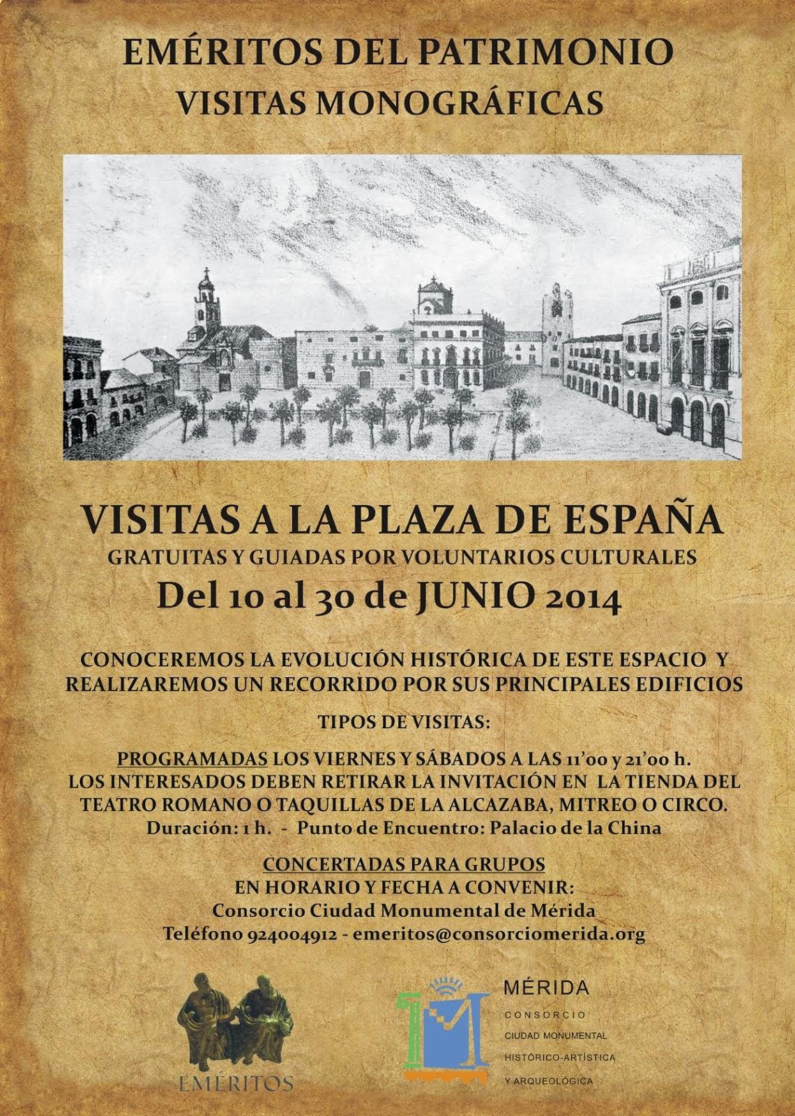 Visitas Plaza de España
