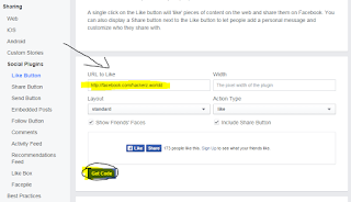 Add Facebook Like Button Below Every Posts in Blogger